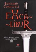 Portada del libro Excalibur (Crónicas del señor de la guerra 3)