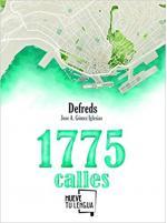 Portada del libro 1775 calles