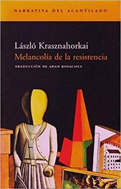 Portada del libro Melancolía de la resistencia