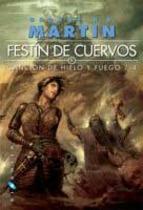 Portada del libro Festín de cuervos (Canción de hielo y fuego 4)