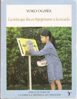 Portada del libro La niña que iba en hipopótamo a la escuela