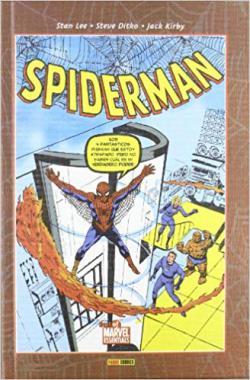 Portada del libro Spiderman de Stan Lee y Steve Ditko  I