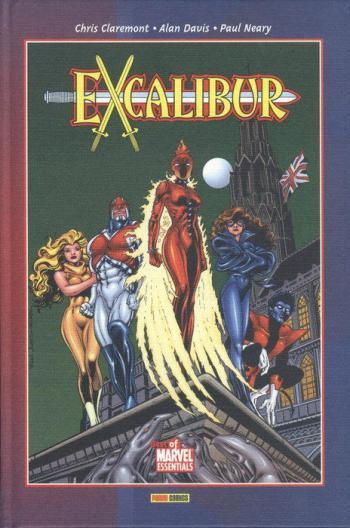 Portada del libro Excalibur 01