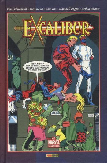 Portada del libro Excalibur 02