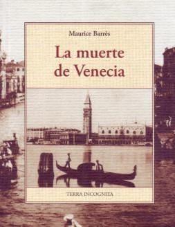 Portada del libro La muerte de Venecia