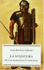 Portada del libro La aventura de los romanos en Hispania