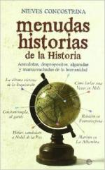 Portada del libro Menudas historias de la historia