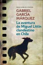 Portada del libro La ventura de Miguel Littín clandestino en Chile