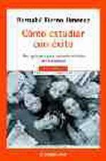 Portada del libro COMO ESTUDIAR CON EXITO