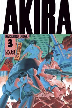 Portada del libro Akira - Volumen 3