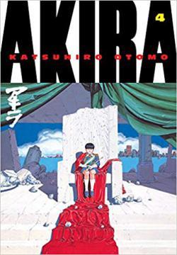Portada del libro Akira - Volumen 4