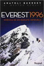 Portada del libro Everest 1996. Crónica de un rescate imposible