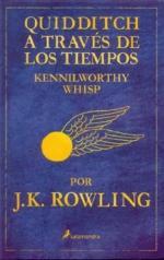 Portada del libro Quidditch a través de los tiempos