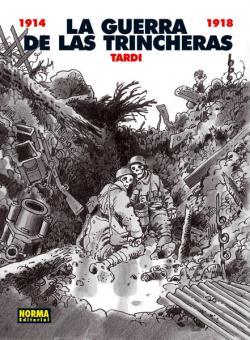 Portada del libro La guerra de las trincheras