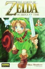 Portada del libro Ocarina of time. The legend of Zelda 1