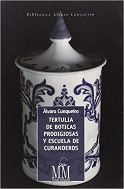 Portada del libro Tertulia de boticas prodigiosas y escuela de curanderos