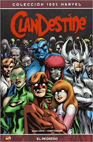 Portada del libro Clandestine: El regreso