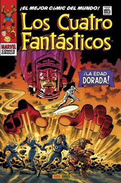Portada del libro Los Cuatro Fantásticos 3. ¡La Edad Dorada!