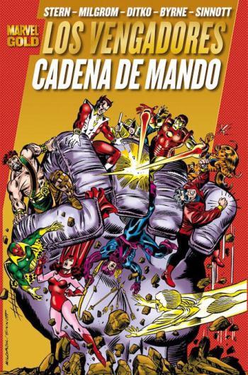 Portada del libro Los Poderosos Vengadores 5: Cadena de mando