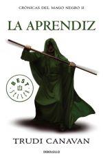 Portada del libro La aprendiz (Crónicas del mago negro 2)