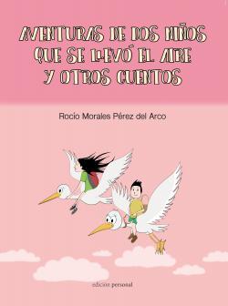 Portada del libro Aventuras de dos niños que se llevó el aire y otros cuentos