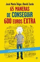Portada del libro 65 maneras de conseguir 600 euros extra y algunos trucos para ahorrar