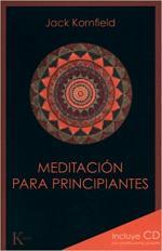 Portada del libro Meditación para principintes