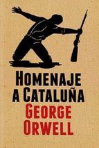 Portada del libro Homenaje a Cataluña