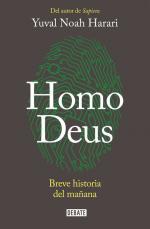 Portada del libro Homo Deus. Breve historia del mañana