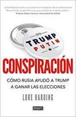 Portada del libro Conspiración: Cómo Rusia ayudó a Trump a ganar las elecciones
