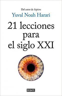 Portada del libro 21 lecciones para el siglo XXI