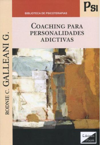 Portada del libro Coaching para Personalidades Adictivas
