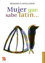 Portada del libro Mujer que sabe latín...