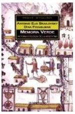 Portada del libro Memoria verde