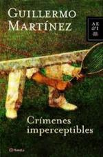 Portada del libro Crímenes imperceptibles