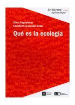 Portada del libro Qué es la ecología
