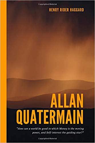 Portada del libro Allan Quatermain