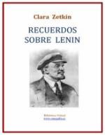 Portada del libro Recuerdos sobre Lenin