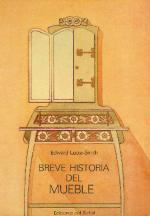 Portada del libro Breve historia del mueble