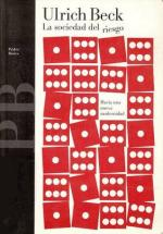 Portada del libro La sociedad del riesgo: hacia una nueva modernidad