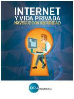 Portada del libro Internet y vida privada. Navega por la red con seguridad