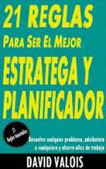 Portada del libro 21 Reglas para convertirte en el mejor estratega y planificador
