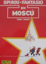 Portada del libro Spirou y Fantasio en Moscú