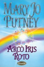 Portada del libro Arco Iris roto. Ángeles caídos 5