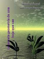 Portada del libro La secreta geometría de una hoja que cae