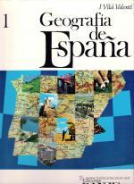 Portada del libro Geografía de España