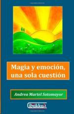 Portada del libro Magia y emoción, una sola cuestión