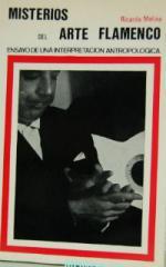 Portada del libro Misterios del arte flamenco