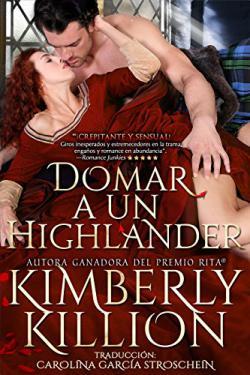 Portada del libro Domar a un Highlander