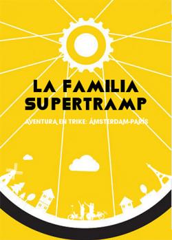 Portada del libro La familia Supertramp. Aventura en trike: Amsterdam-Parí